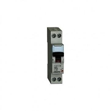 BTicino FC881C32 Interruttore Magnetotermico, C32, 1P+N, 1 m, 4500 A, 32 A