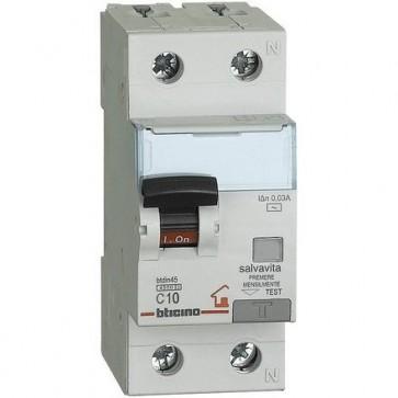 BTICINO GC8813AC6 MAG. DIFF AC 1P+N 30MA 6A 4500A