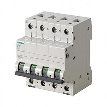 Siemens 5sl6 – Interruttore Magnetotermico automatico 400 V 6 KA 4pol C 25 a 5SL64257BB