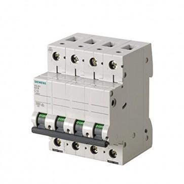 Siemens 5sl6 – magnetotermico 400 V 6 KA 4 poli C 20 A 5SL64207BB