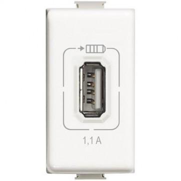 BTicino AM5285C1 - Nuova presa USB Matix 1100mA 5V