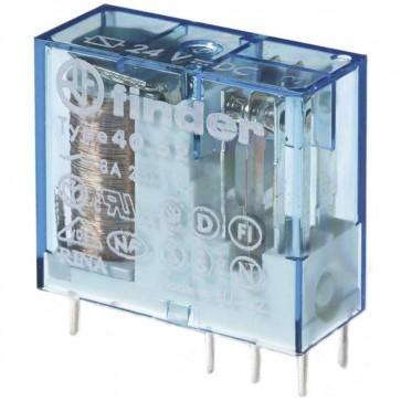 Relè per PCB Finder 40.52.9.012.0000 12 V/DC 8 A 2 scambi
