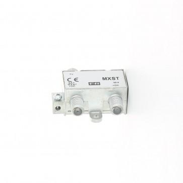 Miscelatore da interno Tv-Sat Fracarro MXST con connettori F 226400