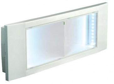 LAMPADA DI EMERGENZA INCASSO 11W LED BEGHELLI STILE 1499/1
