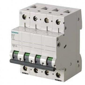 Siemens 5sl6 – Automatico Magnetotermico 400 V 6 KA 4 poli C 16 A 5sl64167bb