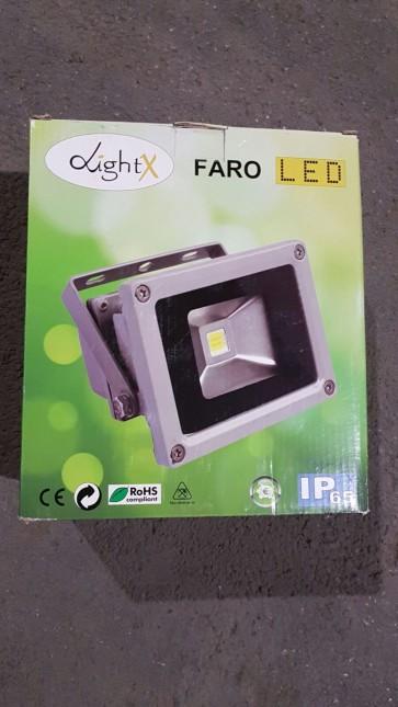 FARO PER ESTERNO LED 30W LUCE BIANCA EXITV COD. 26040012