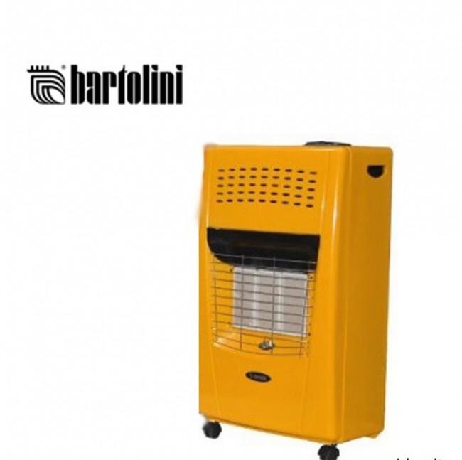 Stufa a gas infrarossi portatile bartolini i bella giallo for Bartolini stufe a gas