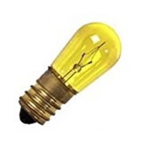 LAMPADINA PER CORDONIERE 0.25W COLORE GIALLA 555155.0101/50