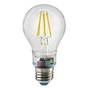 LAMPADA EMERGENZA BEGHELLI E27 LUCE CALDA 6W COD. 56305