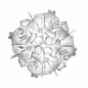Slamp Lampada da soffitto Veli Couture realizzata a mano, Made in Italy,d.53,