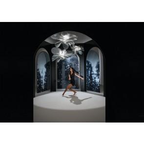 Slamp Lampada a Sospensione Etoile prisma 73 cm