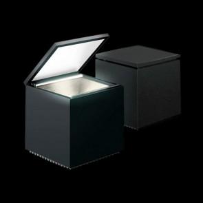 lampada da tavolo cinienils cuboled nero 138l