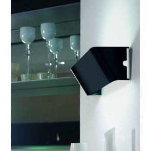lampada a parete lucente bright-a1 T179-15 Nero
