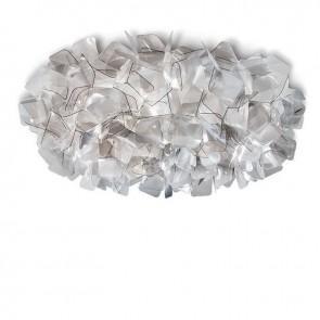 Lampada da soffitto SLAMP CLIZIA FUMè realizzato a mano, Made in Italy