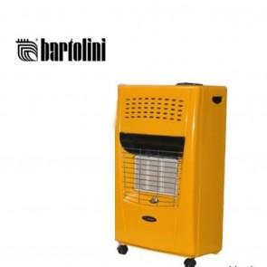 STUFA A GAS INFRAROSSI PORTATILE BARTOLINI I BELLA GIALLO COD. 406